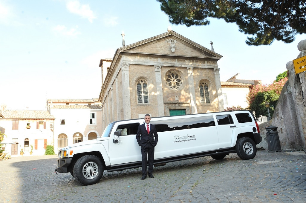 Limousine per Matrimonio a Roma