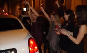 Festa della Donna in Limousine a Roma