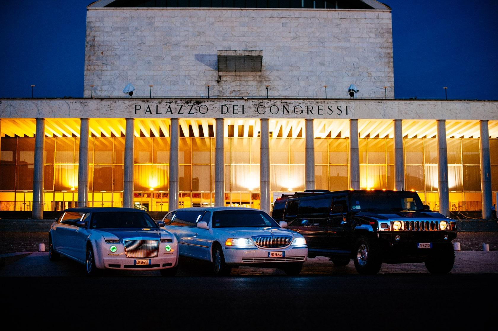 Modelli di limousine per il noleggio pi esclusivi della for Occasione affitto roma