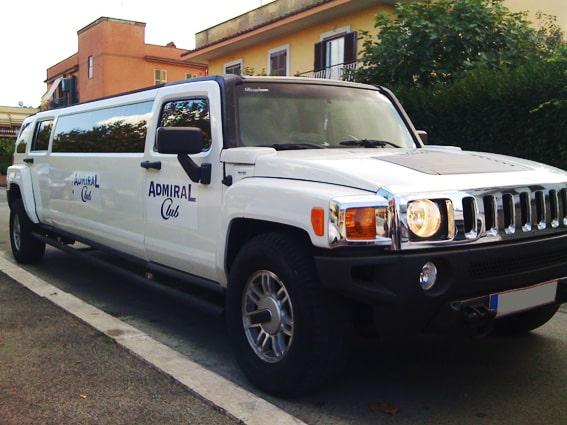 pubblicità su hummer limousine