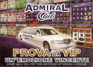 Admiral Club sceglie Lincoln Limousine ed Hummer Limousine per i suoi eventi