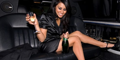 Happy hour limousine Roma