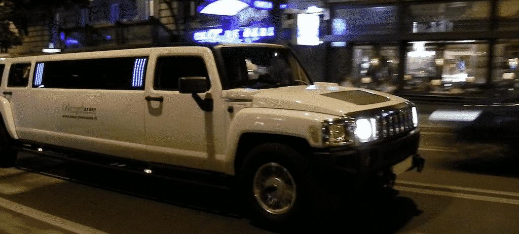 listino prezzi noleggio limousine roma