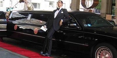 Limousine per servizi fotografici film e videoclip