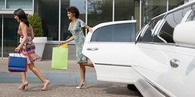 Servizio limousine shopping tour