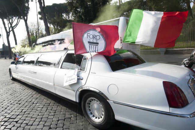 pubblicita limousine