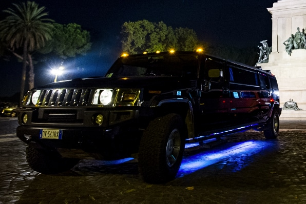 affitto hummer limousine
